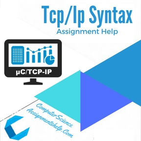 Tcp/Ip Syntax Assignment Help