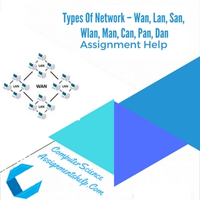 Types Of Network – Wan, Lan, San, Wlan, Man, Can, Pan, Dan Assignment Help