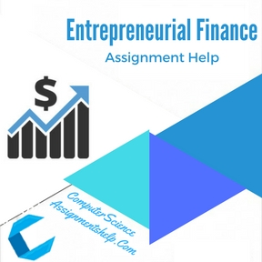 Entrepreneurial Finance Assignment Help